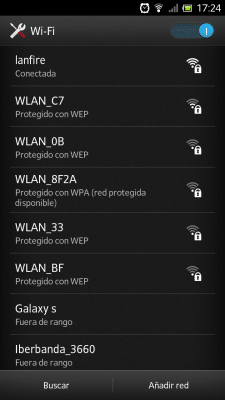 Red Wifi oculta Android