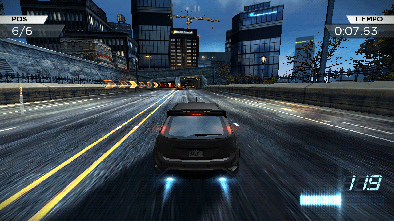 Nfs most wanted el mejor juego de coches para android for Nfs most wanted android