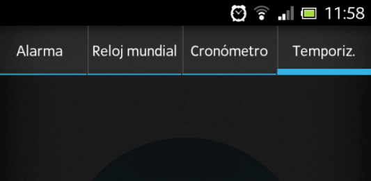 Temporizador Android
