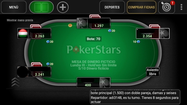 Poker star tablet android
