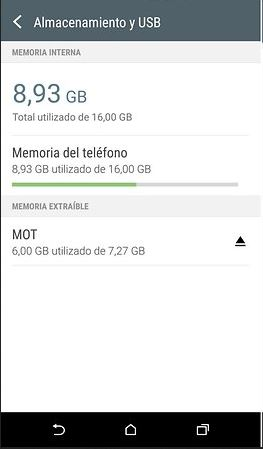 MicroSD Android 6.0