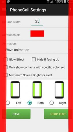 Edge color Notifications