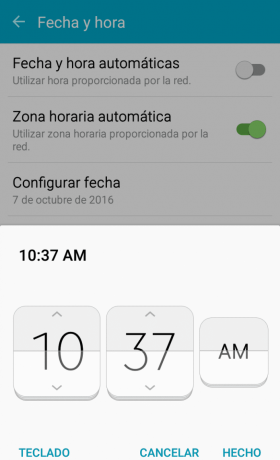 Hora Android