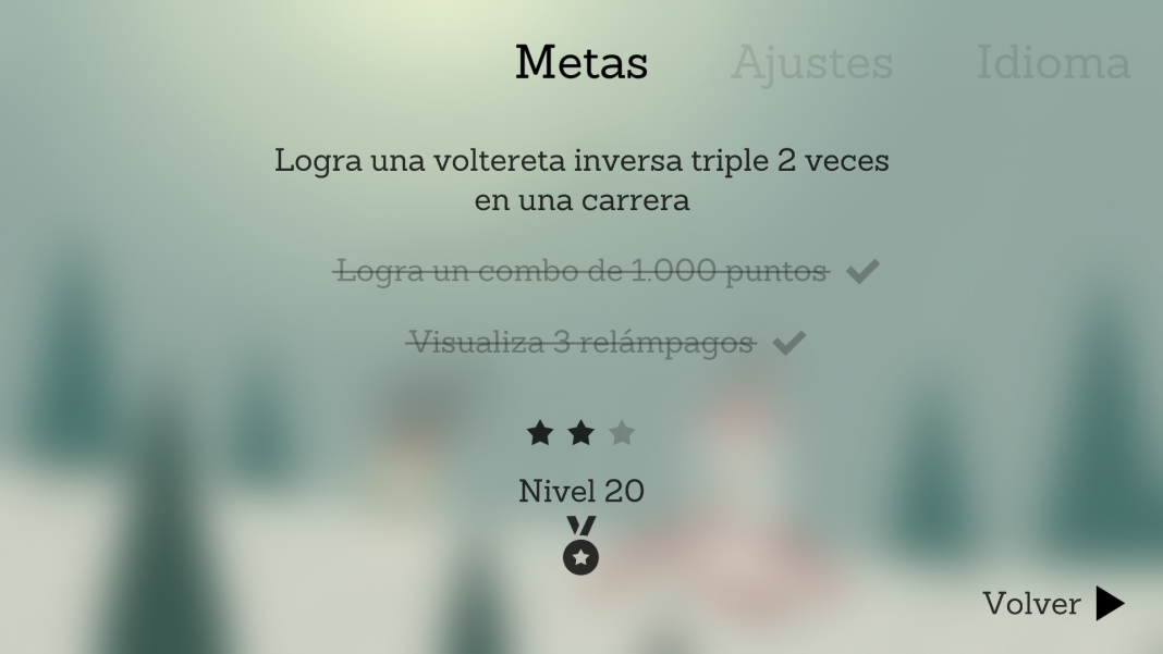 Alto´s Adventure metas en Android