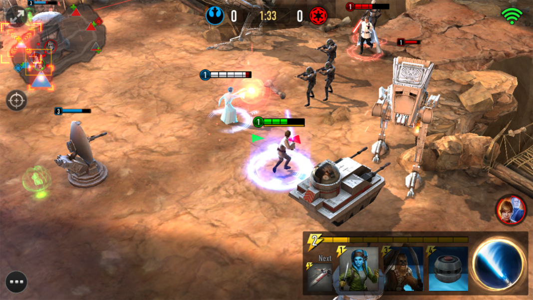Star Wars Force Arena batalla en Android