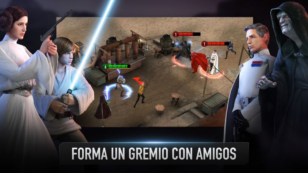 Star Wars Force Arena gremio en Android