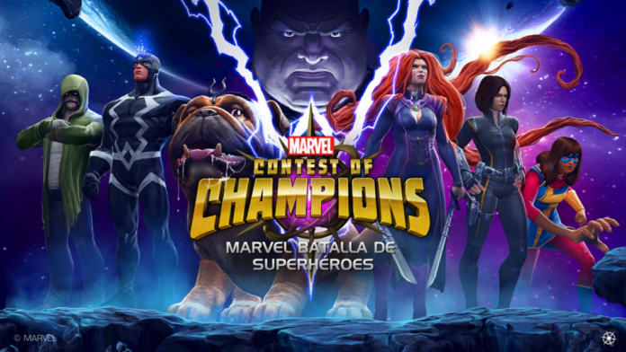 Marvel Contest of champions inicio