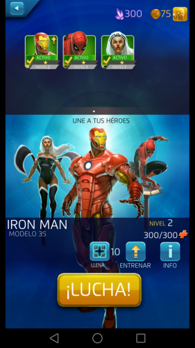 Marvel puzzle quest inicio