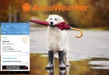 Accuweather aplicación Android